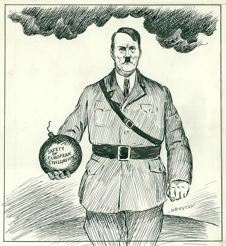 World War II - History of Political Cartoons